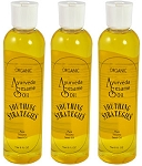 AYURVEDA SESAME OIL Pharmaceutical grade 3-pack